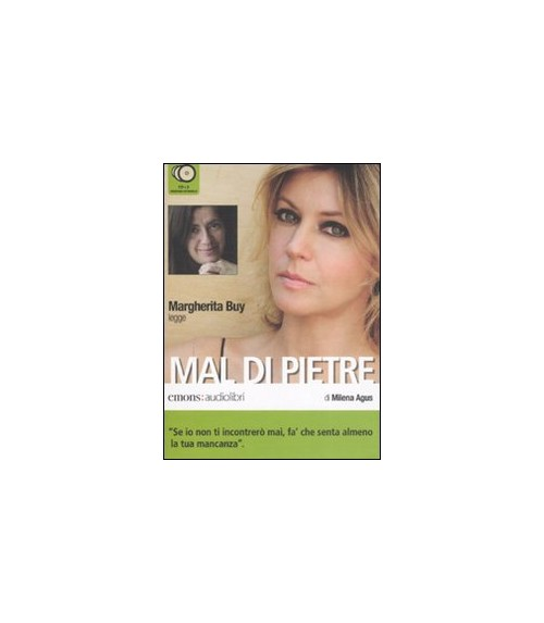 Mal di pietre letto da Margherita Buy. Audiolibro. 2 CD Audio - Agus Milena