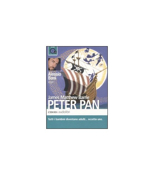 Peter Pan letto da Alessio Boni. Audiolibro. CD Audio formato MP3 - Barrie James M.
