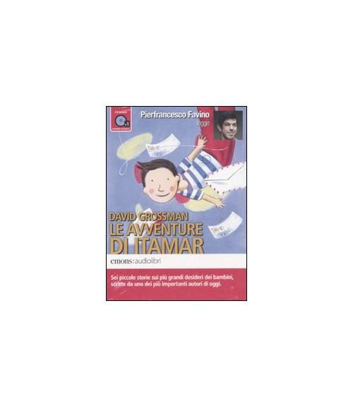 Le avventure di Itamar letto da Pierfrancesco Favino. Audiolibro. CD Audio formato MP3 - Grossman David