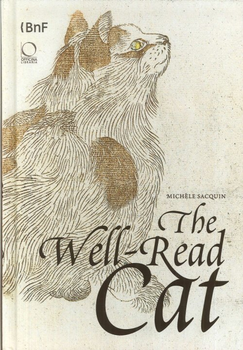 THe well-read cat. From the national library of France - Sacquin Mich