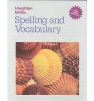 Houghton Mifflin Spelling and Vocabulary (Houghton Mifflin Grolier Writer) - HOUGHTON MIFFLIN