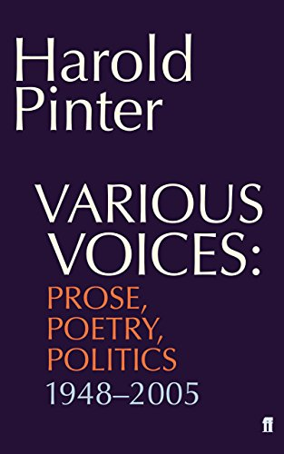 Various Voices - Harold Pinter