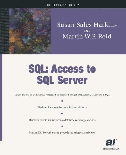 SQL: Access to SQL Server - Susan Sales Harkins; Martin W.P. Reid