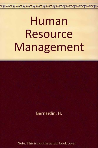 Human Resource Management - H. John Bernardin