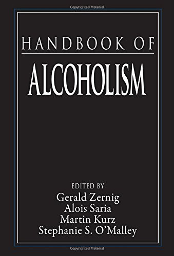 Handbook of Alcoholism (Handbooks in Pharmacology and Toxicology) - Gerald Zernig; Alois Saria; Martin Kurz; Stephanie O'Malley