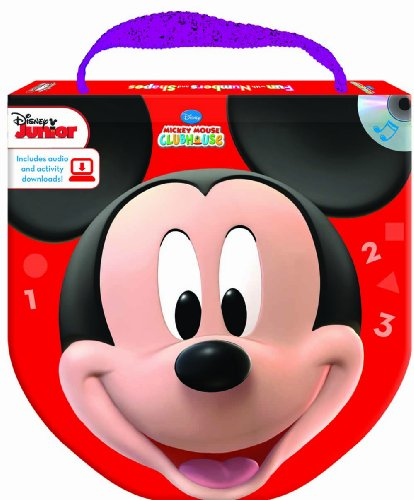 Disney Mickey Mouse Clubhouse Fun with Numbers and Shapes (Read, Play  &  Go book and audio CD) - Studio Mouse Editorial