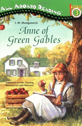 Anne of Green Gables (All Aboard Reading) - L. M. Montgomery