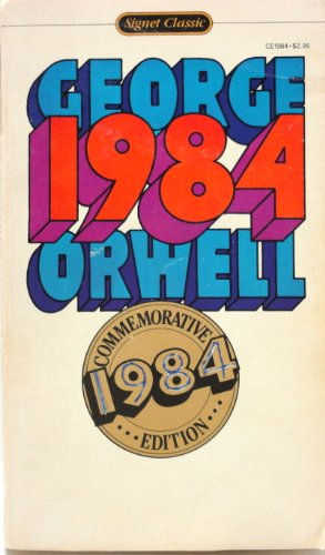1984: A Novel (Commemorative Edition) - George Orwell