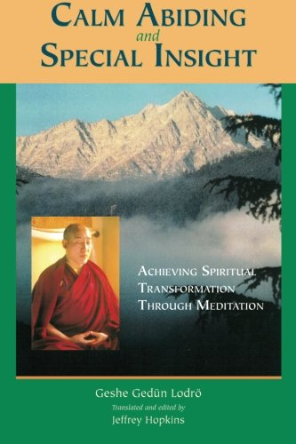 Calm Abiding And Special Insight: Achieving Spiritual Transformation Through Meditation (Textual Studies and Translations in Indo-Tibetan Bu - Geshe Gedun Lodro