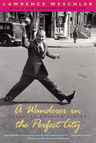 A Wanderer in the Perfect City: Selected Passion Pieces - Lawrence Weschler