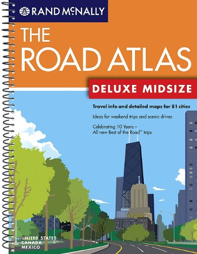 Rand McNally Deluxe Midsize Road Atlas (Rand McNally Midsize Road Atlas: Large Scale) - Rand McNally Corp.