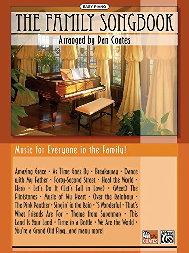 The Family Songbook (Easy Piano) - Dan Coates
