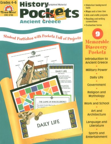 History Pockets: Ancient Greece - Sandi Johnson, Evan-Moor Educational Publishers