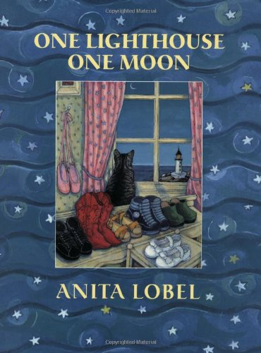 One Lighthouse One Moon - Anita Lobel