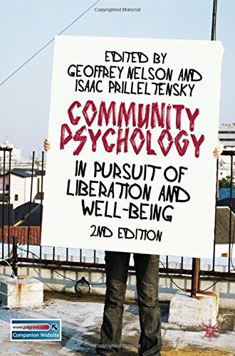 Community Psychology: In Pursuit of Liberation and Well-being - Geoffrey Nelson; Isaac Prilleltensky
