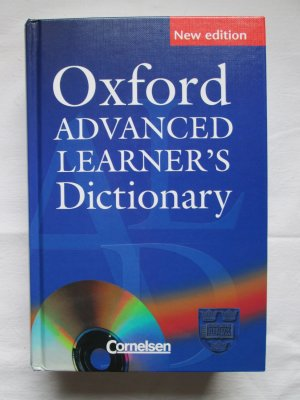 Oxford Advanced Learners Dictionary (with: CD-ROM (Oxford Advanced Learners Compass)) (7th edition) - Chief Editor Sally Wehmeier / Editors Colin McIntosh, Joanna Turnbull / Phonetics Editor Michael Ashby