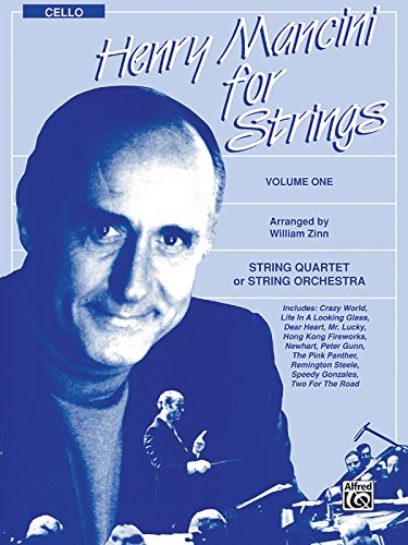 Henry Mancini for Strings, Vol 1: Cello - Henry Mancini