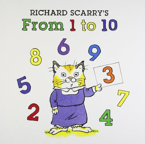 Richard Scarry`s: From 1 to 10 - Scarry, Richard
